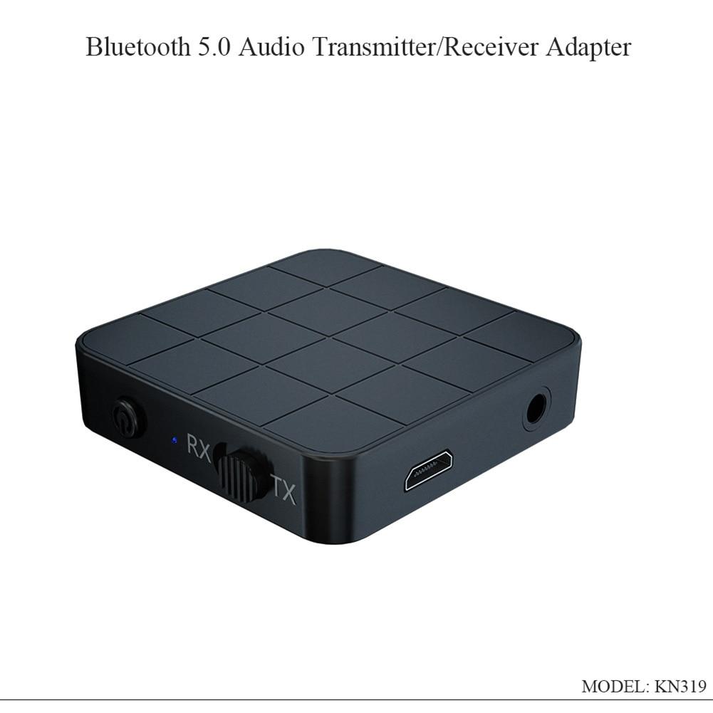 Transmisor receptor de Audio Bluetooth 5,0 4,2 2 en 1 para RCA 3,5 MM AUX Jack USB música estéreo adaptadores inalámbricos para coche TV MP3 PC
