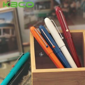 Retro KACO Fountain Pen 0.38mm EF Gift Box Set Kalem Feather Writing Pens for School Stationery Office Art Supplies Dolma Kalem