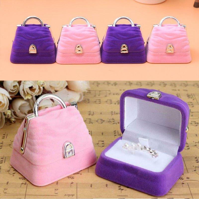 Шкатулка-для-ювелирных-изделий-милая-модная-коробка-в-форме-сумки-для-хранения-серег-браслетов