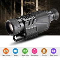 8x digital zoom infrared digital night vision monocular telescope dual use day night hunting device image video recording