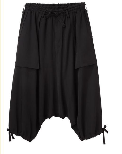 Ropa Para Hombre Pantalones de pierna ancha pantalones bombachos Capris de talla grande para hombre ropa informal estilo Hip Hop ropa para hombre 2020 pantalones de moda para hombres