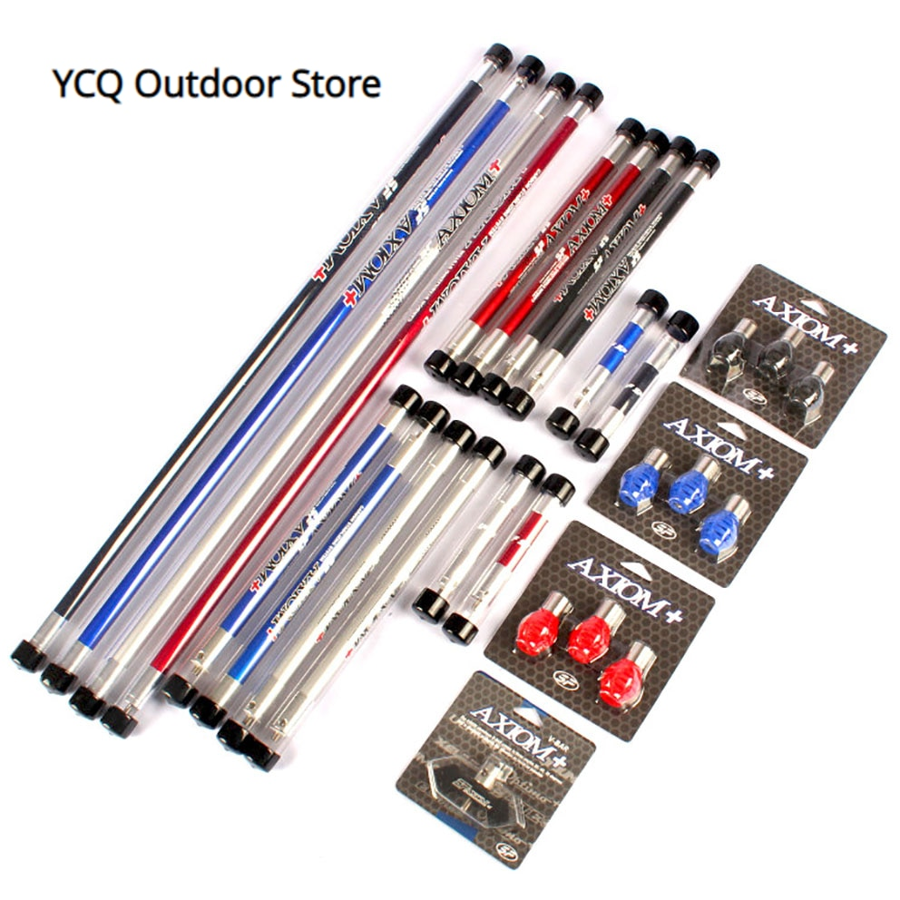 1set Archery Carbon Balance Bar Set Balance 30 inch +12 inch +4 inch with V Bar and Damper For Recurve Bow Shooting Accessory