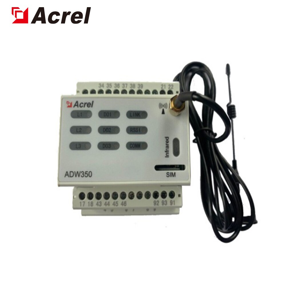ACREL 300286.SZ بتصنيع 5G قاعدة محطة مراقبة الطاقة ADW350WA الدين السكك الحديدية اللاسلكية السلطة متر ،