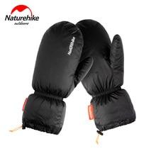 Naturetrekking gants en duvet doie hiver Portable randonnée en plein air garder au chaud imperméable 20D 400T Nylon tissu ultra-léger vers le bas gants
