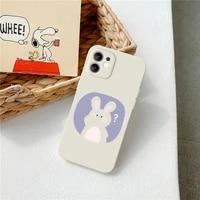 nohon cute animal design phone case for xiaomi 11 i lite 10 t s pro ultra 9 se redmi note 10 9 8 poco f3 light color back cover