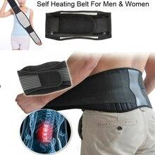 Adjustable Waist Belt Tourmaline Self Heating Magnetic Therapy Waist Support Lumbar Back Belt Brace Massage Band Health Care