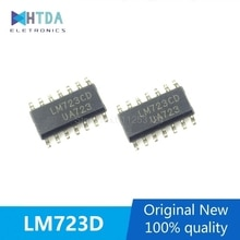 2pcs/lot LM723CD013TR LM723CD LM723C SOP-14 In Stock