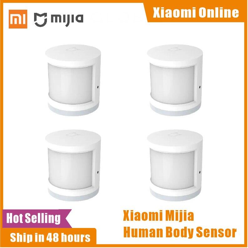 Original Xiaomi Human Body Sensor Magnetic Zigbee Smart Home Super Practical Smart Intelligent Device with Rotate Holder Option