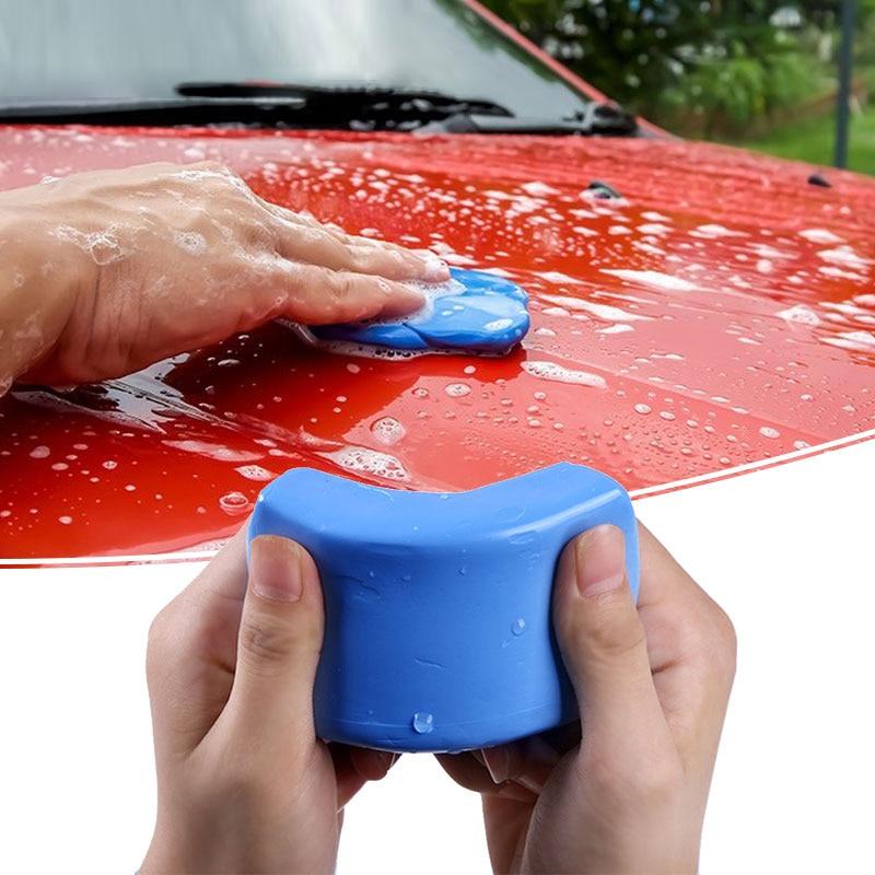 Ручная Автомойка TSLM1, 100/180 г, голубая глина, для очистки автомобилей, стайлинг автомобилей, очистка автомобилей