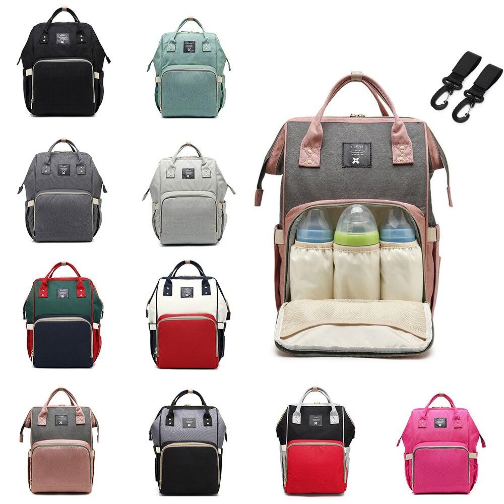 Nursing Bag Mommy Diaper Bag Large Capacity Designer Baby Nappy Bag Baby Care Bag for Mother Kid Fas