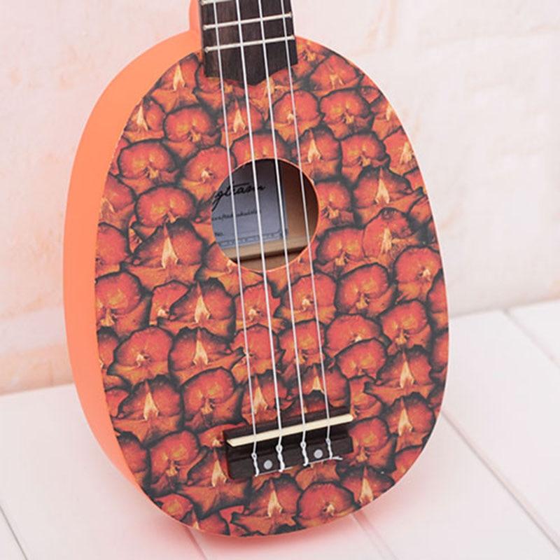 Baritone Ukulele Fruta Green Wood Kids Bag Acoustic 4 String Small Guitar 21 Inch Bass Cartoons Perform Guitarra Sports ZZ50YL enlarge