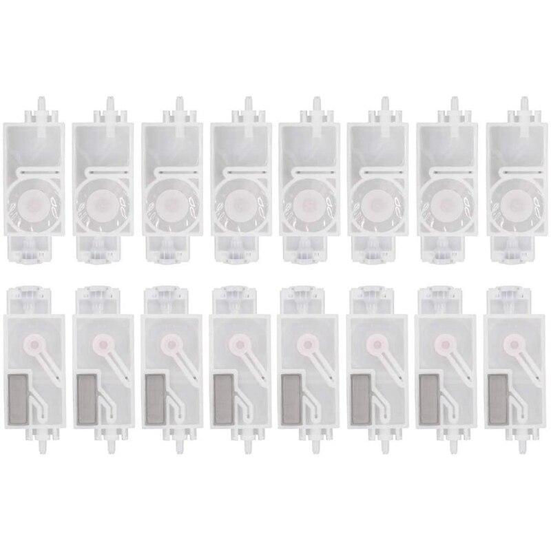 16 قطعة المثبط الحبر لميماكي Jv33 Jv5 Cjv30 رولاند موتوه غالاكسي الإنسان Wit-Color Dx5 رأس الطباعة قلابة تصفية