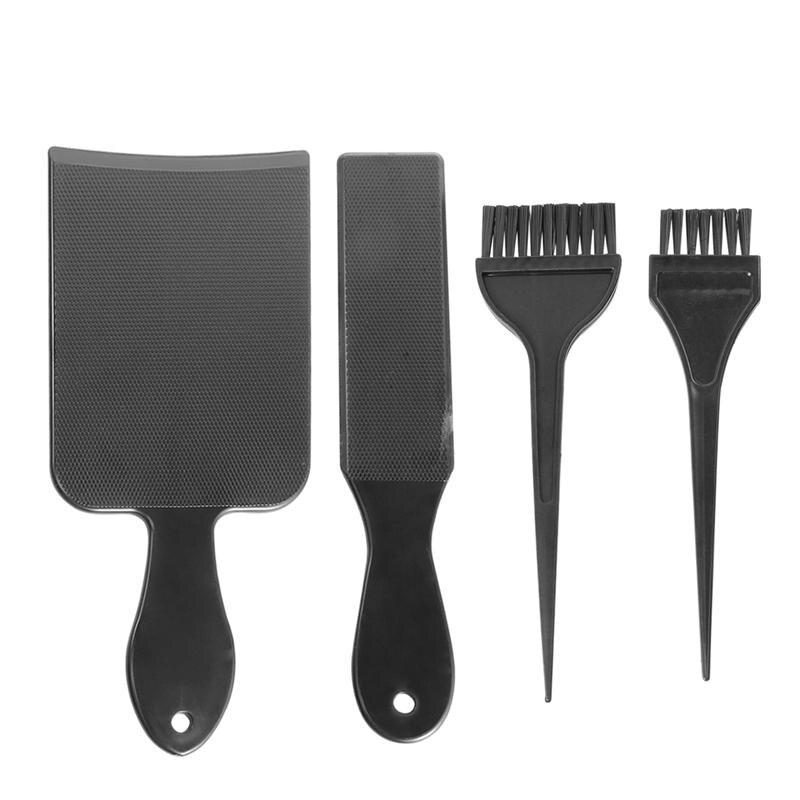 4 шт. инструменты для окраски волос профессиональная палитра для окрашивания волос доска для окрашивания волос с кистями для парикмахерско...