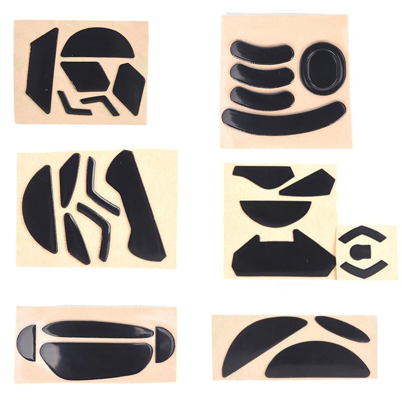 1 Juego de patines para pies de ratón de alta calidad para ratón inalámbrico gittech G303/G302/G402/MX Master 2/G Pro/G500/G500s/G900