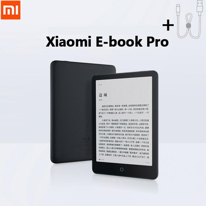 Get Mi Xiaomi E-Book Reader Pro 7.8 Inch 300ppi Built-in Front Light E-Ink Screen Touch Electronic Book Smart Ebook Reader xiomi