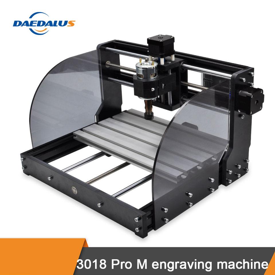Máquina de grabado CNC 3018 PRO M 3-axis controlador GRBL máquina de grabado láser 775 husillo DIY máquina de grabado de carpintería