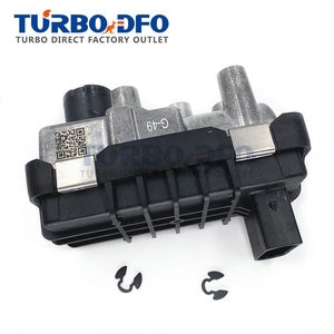 GTB1756VK Turbo Electronic Actuator Wastegate G-49 730314 6NW009228 For Jeep Cherokee Wrangler III 2.8 CRD 130/147kw ENS RA428RT