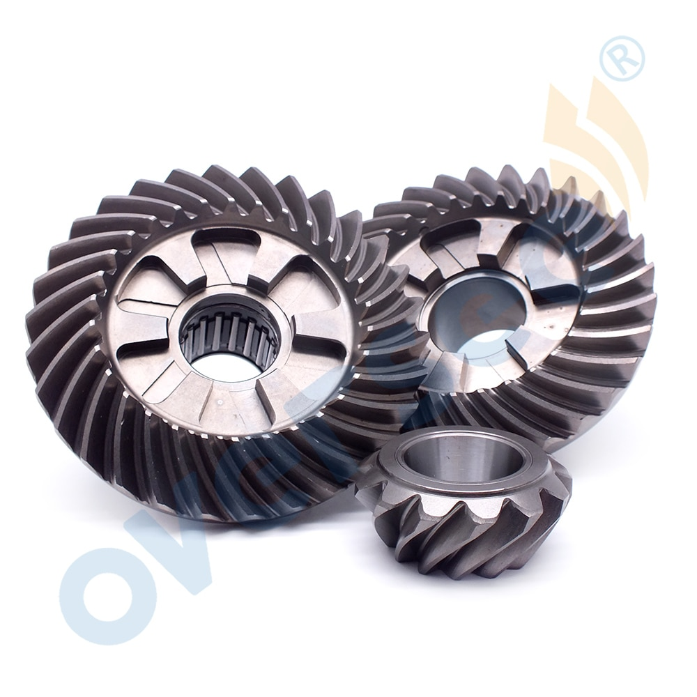 Gear Kit 67F-45571;67F-45560;67F-45551 For Yamaha Outboard Parts 4 Stroke F50 F75 F80 F90 100HP 30T/30T/13T enlarge
