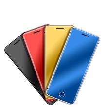 Telefon Mini karty Ulcool V66 + dialer bluetooth 1.67 Cal Ultra cienki metalowy korpus telefon komórkowy MP3 podwójna karta SIM mały telefon komórkowy