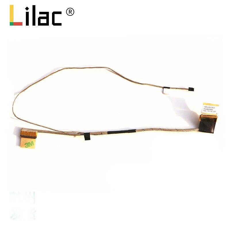 Гибкий провод для видеоэкрана для ноутбука ASUS X550 X550ZE VM590Z LCD LED LVDS лента для показа кабеля 1422-01GB000