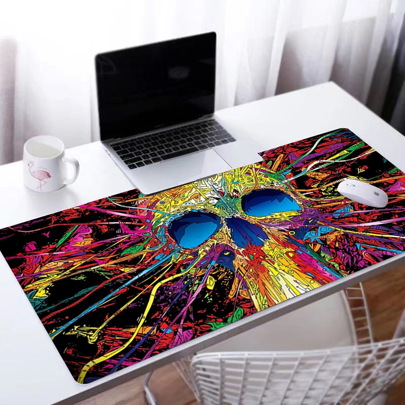 Luxury Design Mouse pad Trippy Computer Laptop Anime Keyboard Mouse Mat Large Mousepad Keyboards Gamers Decoracion Desk Mat enlarge