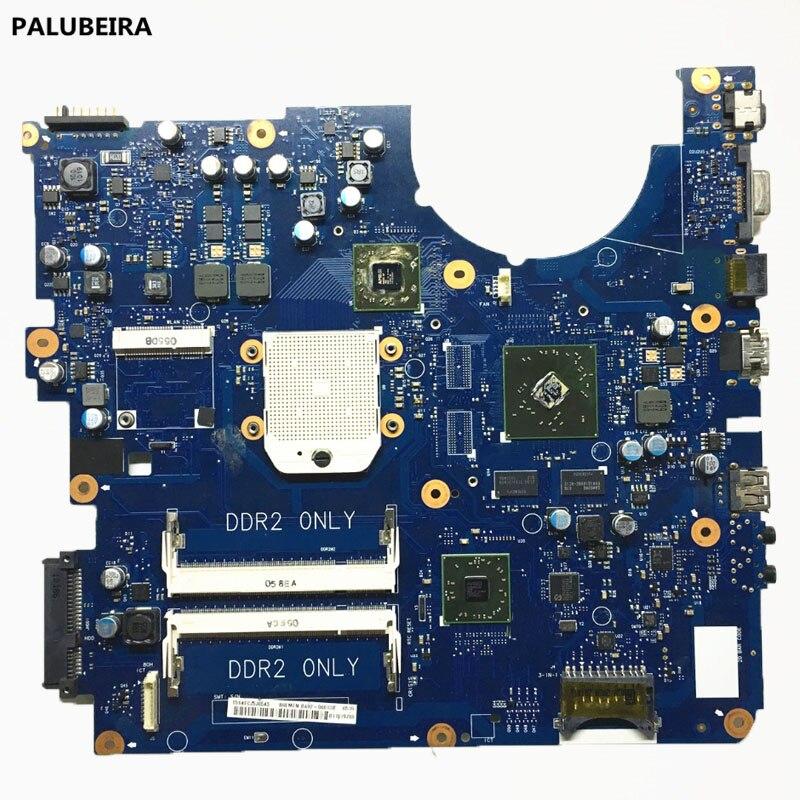 Palubeira BA92-06013B BA92-06013A r525 NP-R525 para samsung portátil placa mãe ddr2 4 placa gráfica de vídeo 100% totalmente testado