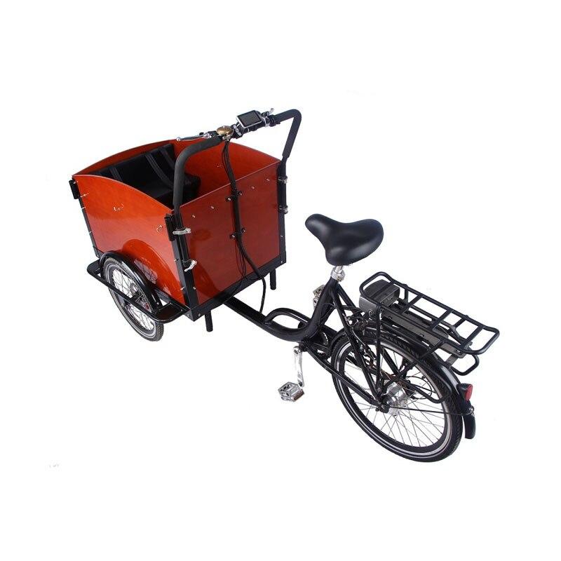 3 عجلات دواسة الكهربائية البضائع الدراجة الهولندية الكبار دراجة ثلاثية العجلات الأسرة دراجة الشارع الاطفال سكوتر للبيع للتخصيص