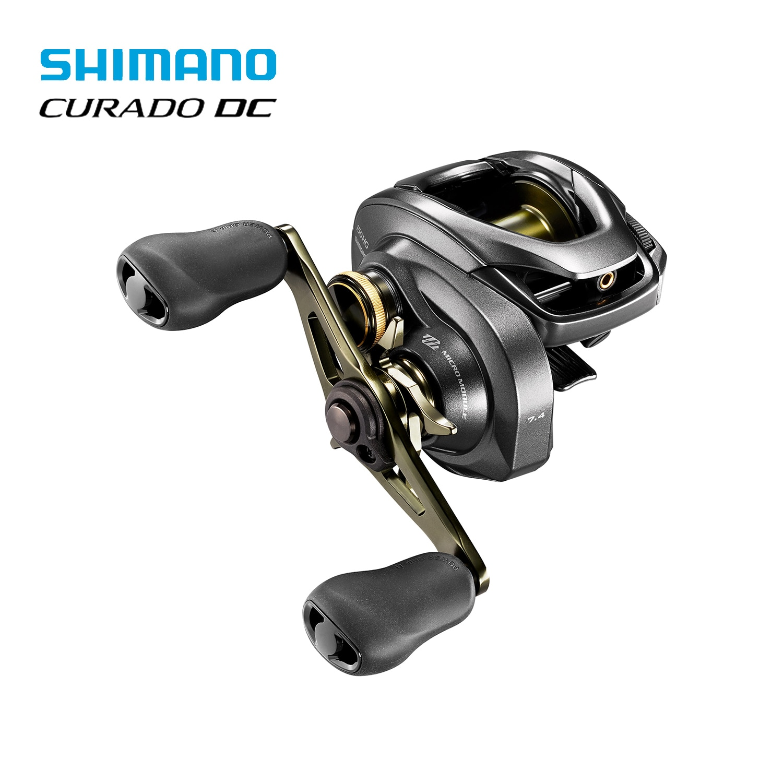 SHIMANO CURADO K Fishing Reel 6.2:1/7.4:1/8.5:1 6+1BB 5KG Power I-DC4 System Strength Body Smooth light
