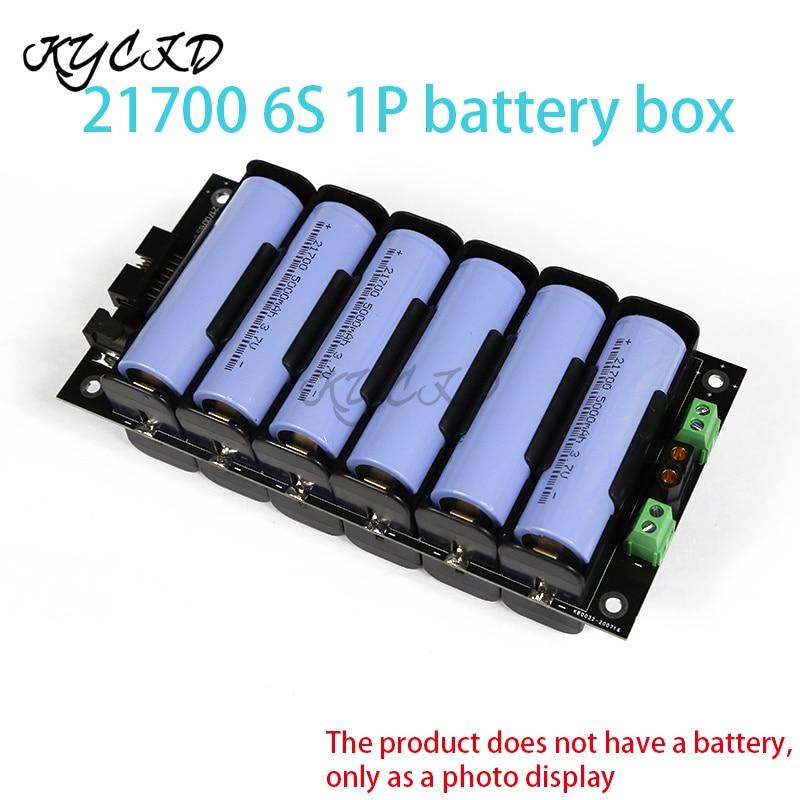 21700 25,2 V 6S 40A BMS блок питания, держатель аккумулятора, балансировочная плата, DIY Ebike батарея, резервная стенка питания 3.74.2V литиевая коробка в комплекте