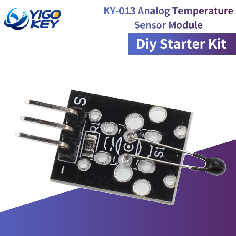 3pin KY-013 Analog Temperature Sensor Module Diy Starter Kit For Arduino