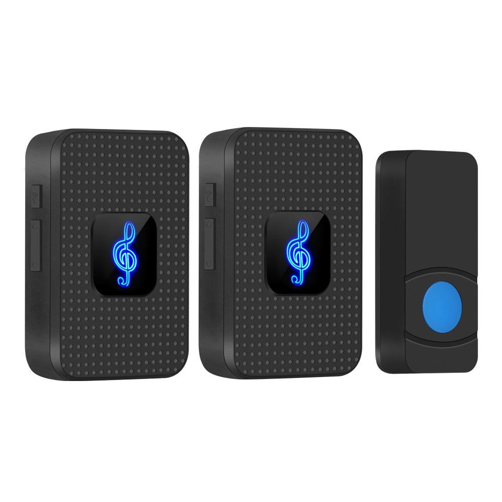 Outdoor Wireless Doorbell Waterproof Home Security Remote Door Bell 38 Chime Visitor Calling Bell 12