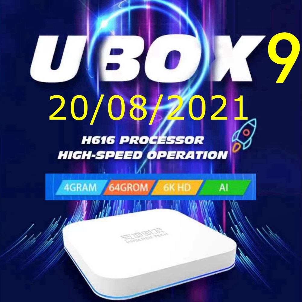 UBOX9 برو unblock tech أندرويد 10 آسيا أفضل صندوق التلفزيون AI صوت مزدوج واي فاي 4 + 64GB الساخن في كوريا اليابان كندا الولايات المتحدة الأمريكية SG PK EVPAD صن...