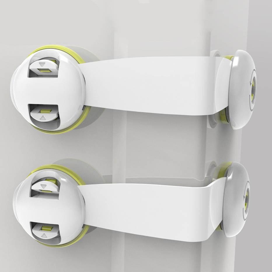 Многофункциональный защитный замок для дверей шкафов и ящиков, для безопасности детей