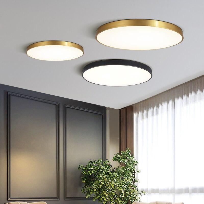 مصباح سقف led حديث وبسيط ، تصميم إسكندنافي حديث ، تصميم نورديك ، ثلاثة ألوان ، إضاءة خافتة ، مثالي لغرفة النوم أو الشرفة أو الردهة.