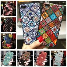 Funda para Samsung Note 10 Lite, funda 3D con relieve floral para Samsung Galaxy A11 A21 A41 M01 A81 S Note 10 S10 Lite 2020