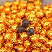 6A China Yunnan Ripe Pu'er Tea Gold Tin Foil Packing Resin Tea Pu'er Cha Gao Green Food For Beauty L