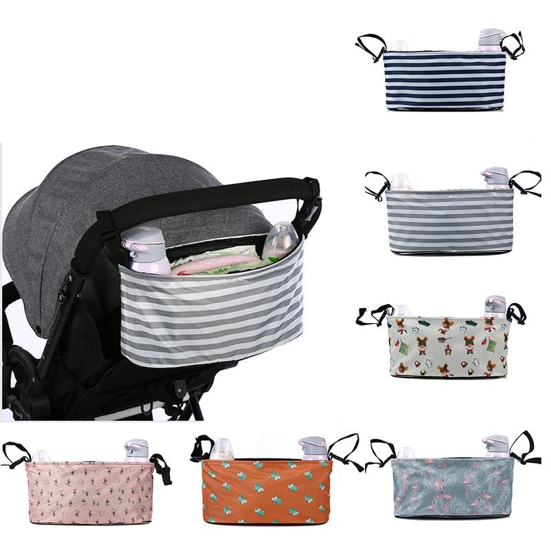 Organizador de cochecito de bebé con portavasos para sillas de ruedas, cochecito de bebé, carrito de bebé, bolsa de pañales, accesorios para cochecito yoya