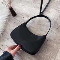 handle bag women retro small handbag nylon shoulder totes underarm vintage handle bag female 2021 small subaxillary bags clutch