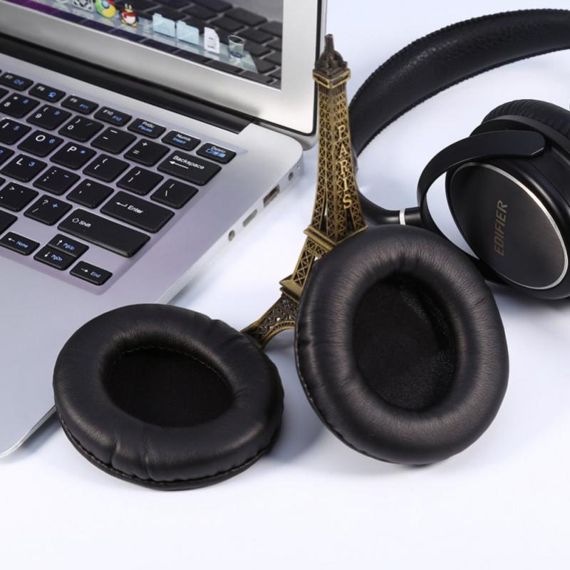 1 пара 50-105 мм проводные наушники амбушюры беспроводные Bluetooth наушники Амбушюры круглые амбушюры из искусственной кожи Прямая поставка