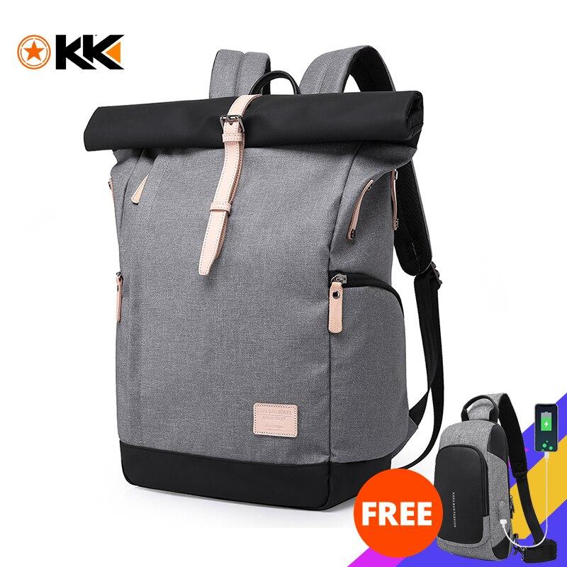 Kaka marca das mulheres dos homens mochila faculdade casual escola mochila masculino bolsa de viagem 15.6 usb mochilas para portátil mochila