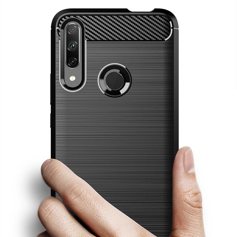 Чехол из углеродного волокна противоударный чехол для телефона huawei Honor 9X Premium Play 3 3e View 10 20 9 Play 7A 7C Pro Чехол бампер чехол