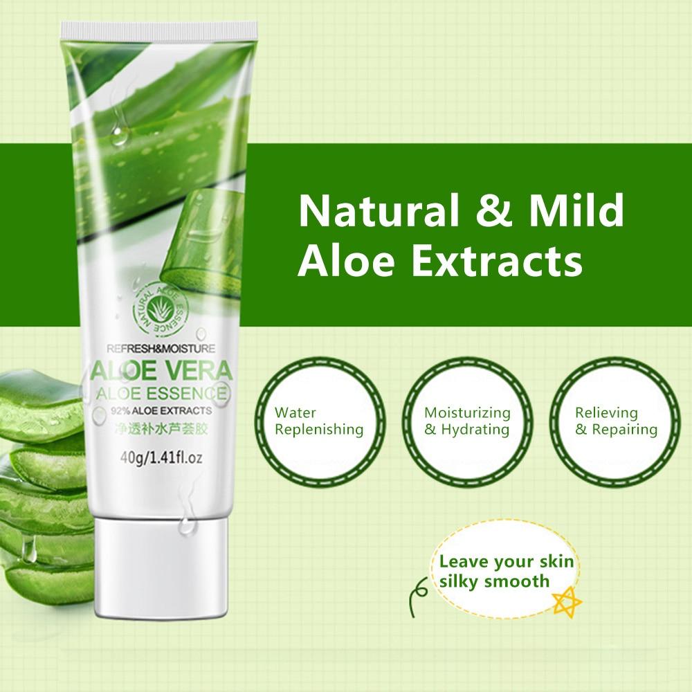 Natural Aloe Vera Gel Aloe Essence Anti Wrinkle Face Moisturizer Acne Treatment Moisturizing Gel Skin Care недорого