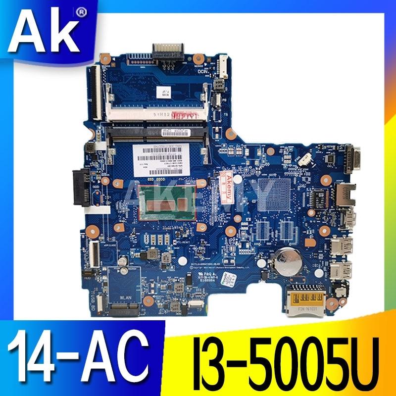 Akemy اللوحة 827683-001 لإتش بي 14-AC 240 g4 240-G4 اللوحة المحمول I3-5005U SKITTL10-6050A2730001-MB-A01 DDR3 اختبار موافق
