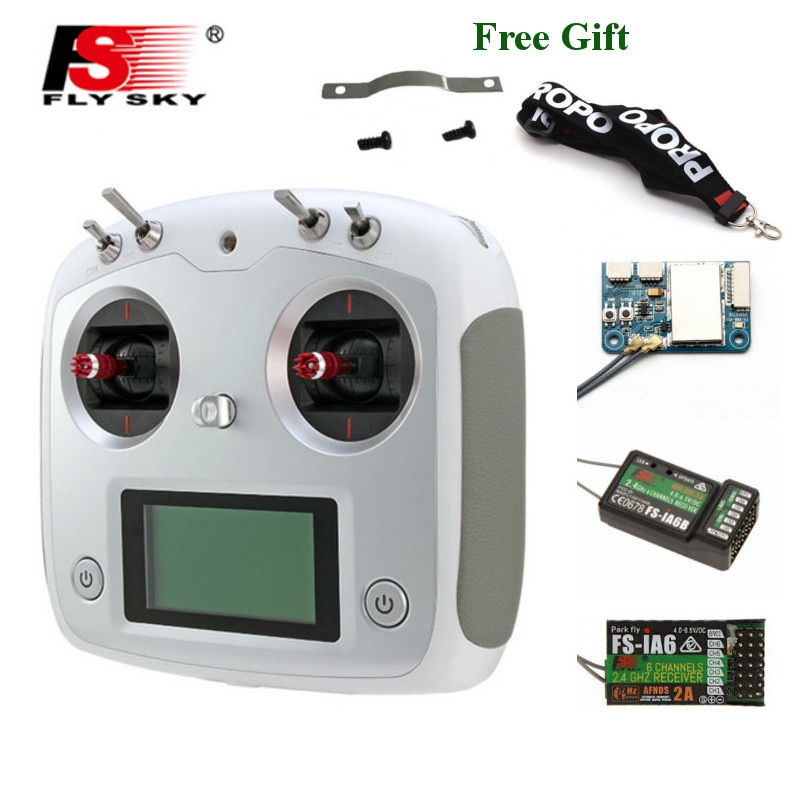 FLYSKY FS-i6S I6S 2.4G 10CH AFHDS 2A Centering Throttle Transmitter W/ IA6B/A8S/iA10B Receiver for R