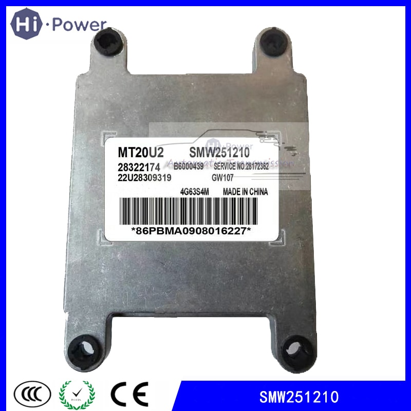 SMW251210 ل الجدار العظيم تحوم H3 ECU التحكم الإلكترونية وحدة MT20U2 SMW251210 28215282 B6000439 28172362 22U28152571