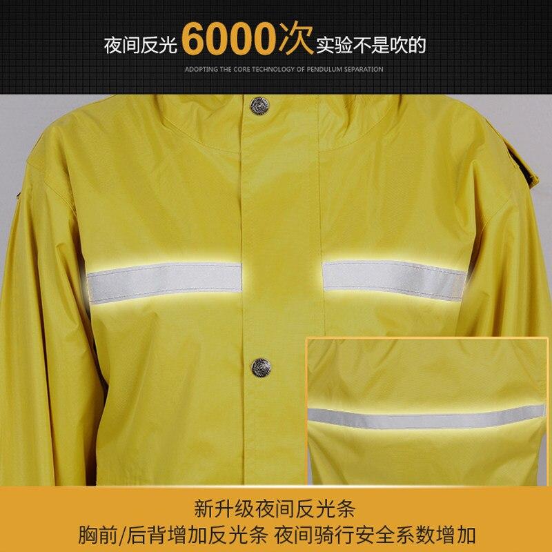 Adult Split Raincoat Jacket Set Fabric Bicycle Running Waterproof Motorbike Raincoat Outdoor Capa De Chuva Rain Gear DF50YY enlarge