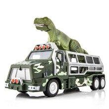 KAIDIWEI dinosaure planète jouet simulé Animal mis hors route camion alliage voiture modèle son et lumière guerrier alliage dinosaure modèle