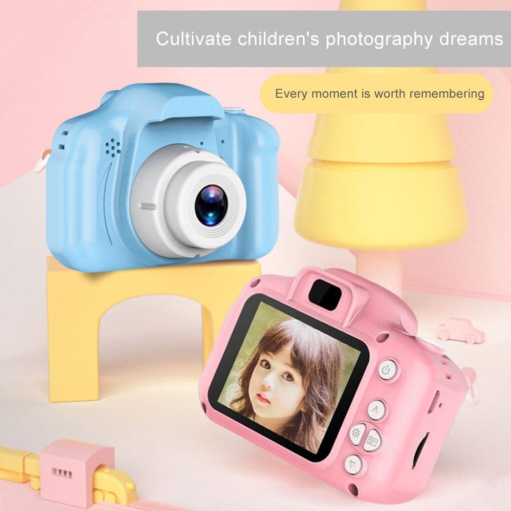 2 Inch Mini Cartoon Camera Educational Toys For Children HD Screen Digital Camera Video Recorder Cam