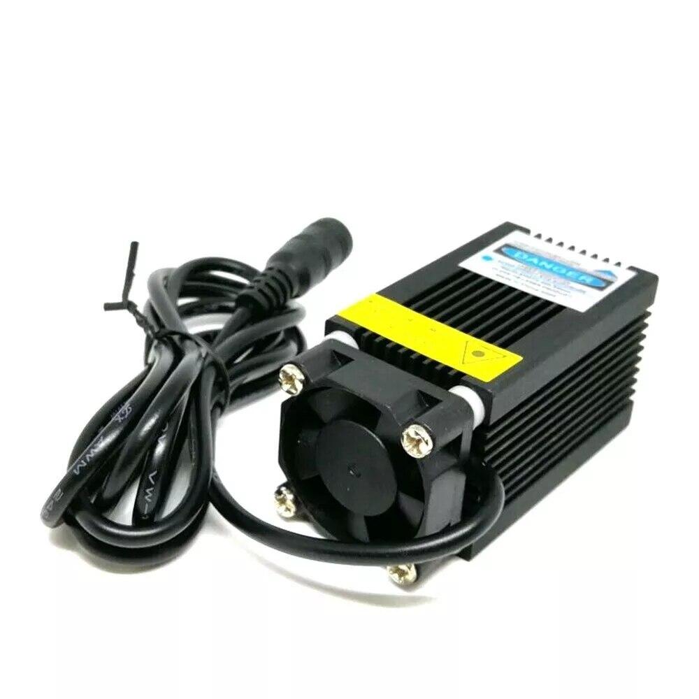Точка модуль фокусируемый 450 нм 1 Вт синий лазер 1000 мВт диоды 12 В питание локатор держатель