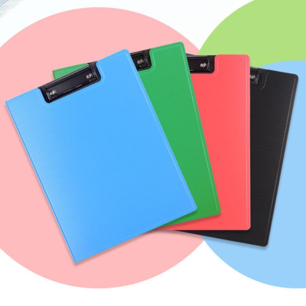 Фото - A4 Folder Plastic Board Clip Single Clip Hard Shell Board Clip Writing Board Data Book Storage Clip Pad what goes zoom board book